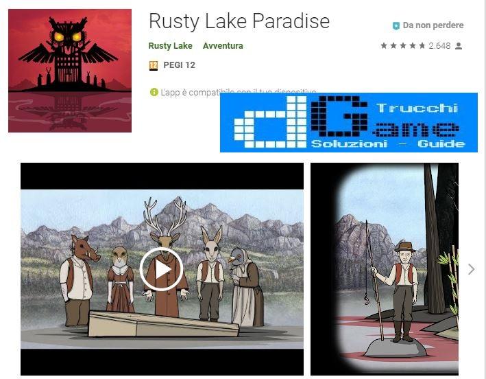 Soluzioni Rusty Lake Paradise