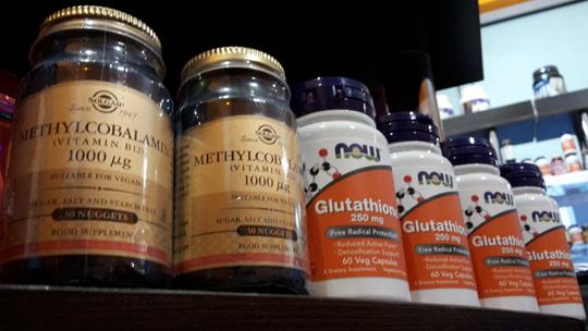 Витамин б12 и Глутатион