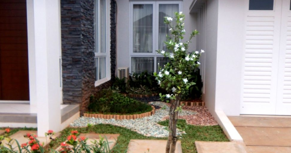 100 Desain Taman Minimalis Depan Rumah Type 36