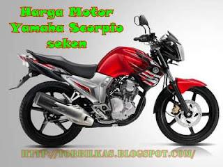 Daftar Harga Motor Yamaha Scorpio Bekas Terlengkap