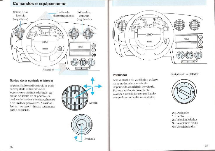 MANUAIS DO PROPRIETÁRIO: MANUAL FORD FIESTA 2004