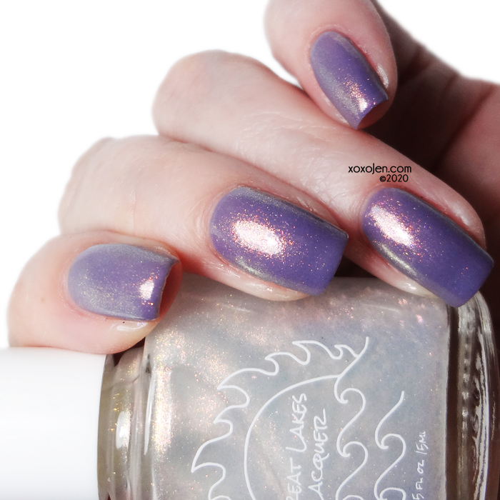 xoxoJen's swatch of Great Lakes Lacquer Renew