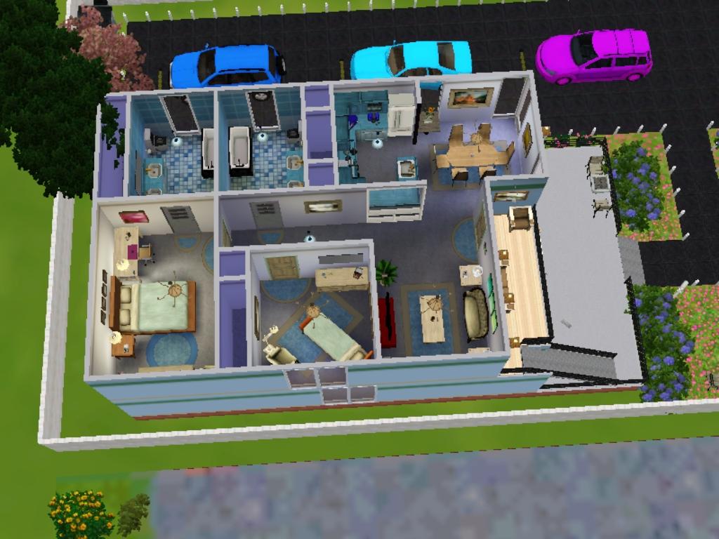 Desain Rumah Untuk The Sims 3 - Mobil W