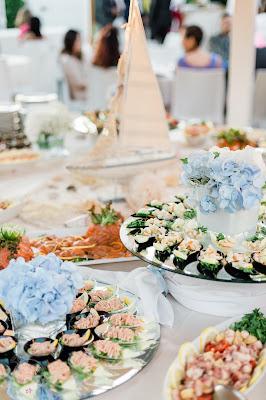 menù di nozze pesce e carne