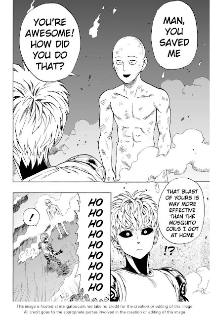 ONE PUNCH MAN CHAPTER 6 Page 17