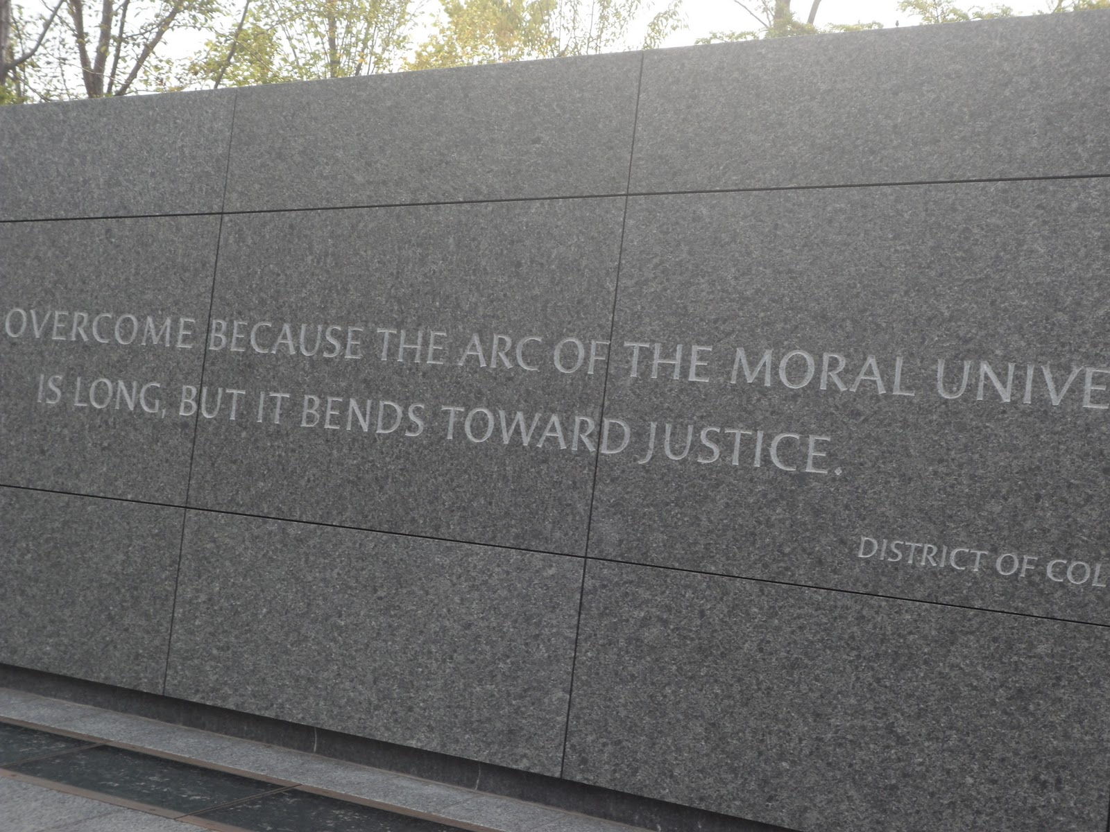 Jfk 50 Martin Luther King Jr Memorial Dedicated