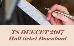TS DEECET Hall tickets 2017, TS TTC Hall tickets 2017, TS DEECET 2017 Hall ticket, TS TTC 2017 Hall ticket