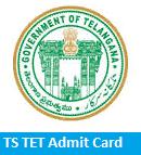TS TET Admit Card