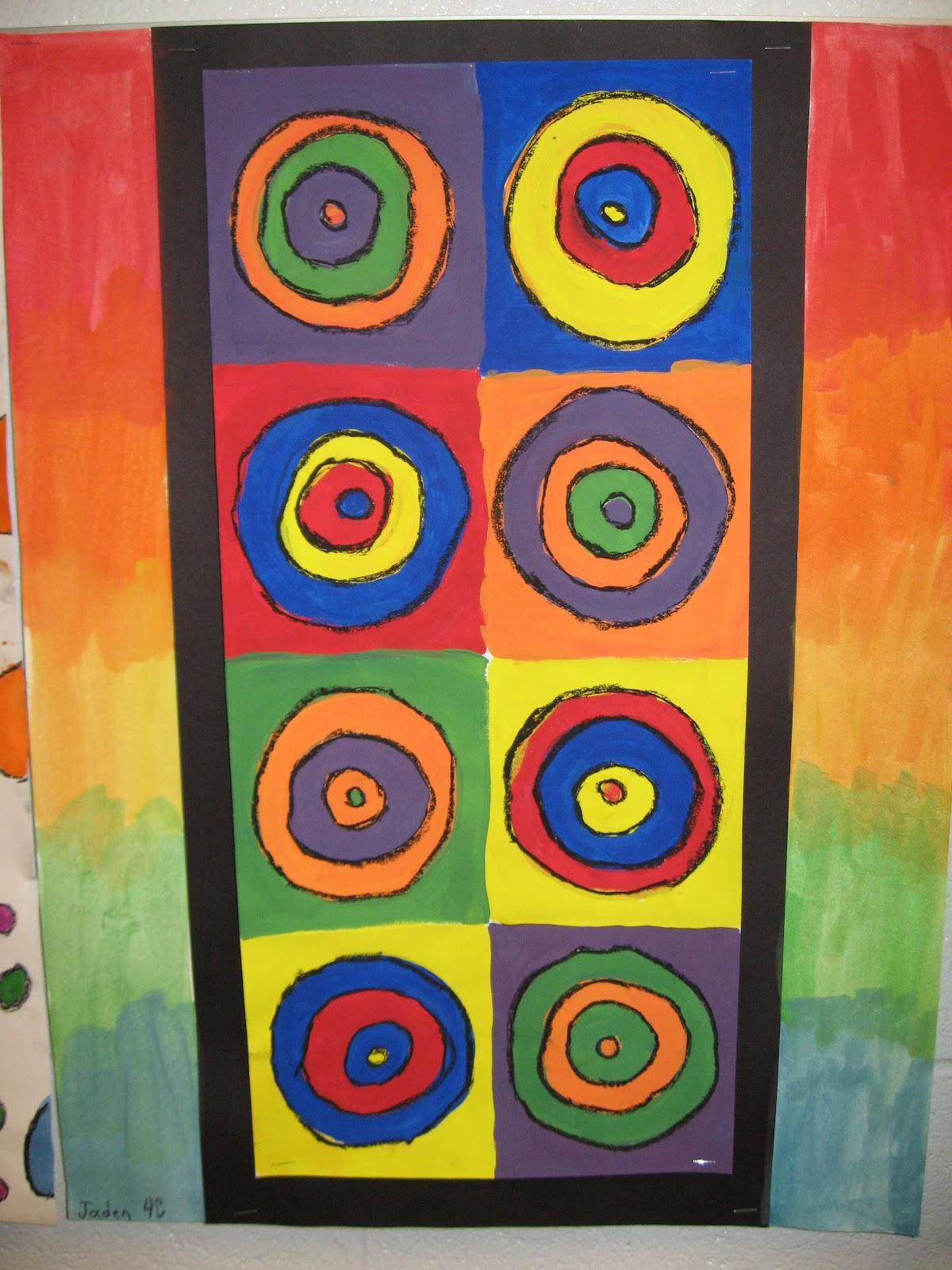 Jamestown Elementary Art Blog 4th Grade Kandinsky