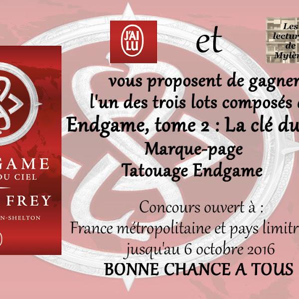 [Concours] Endgame, tome 2 : La clé du ciel de James Frey - Jusqu'au 6 octobre