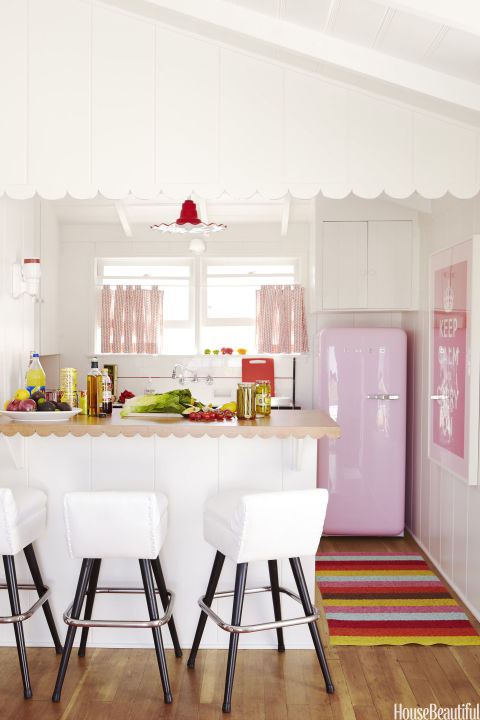 PINK REFRIGERATOR | Home Decor Bible