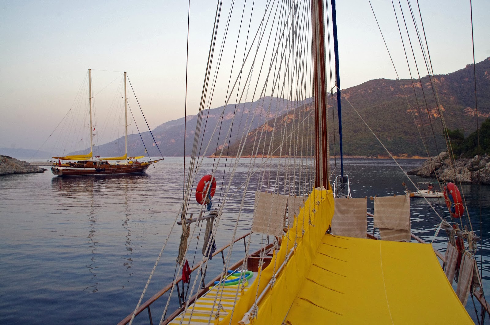 Sailing in Turkey with Neyzen