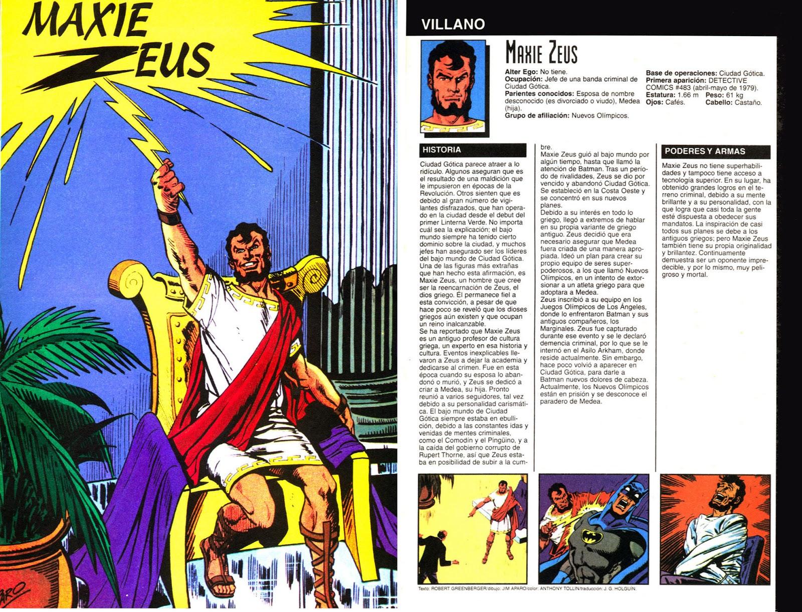 Maxi Zeus (ficha dc comics)