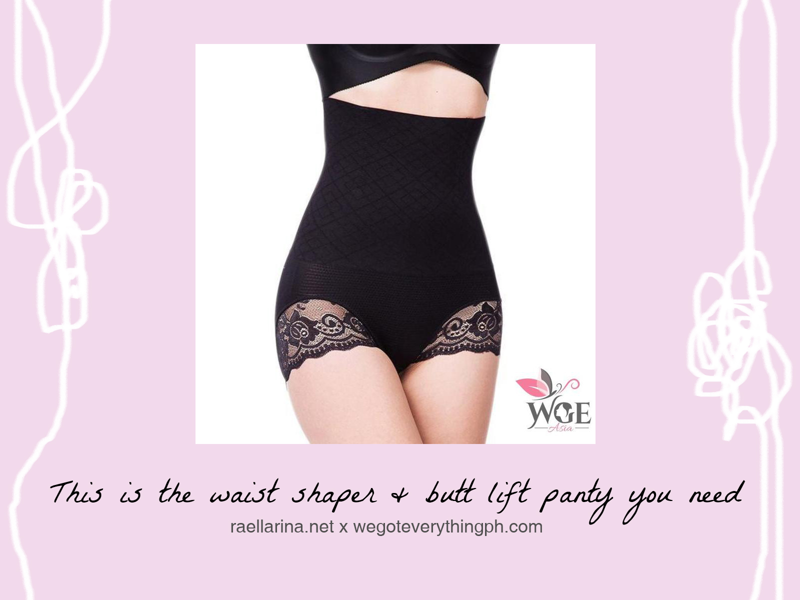 56f2da6eb This is the waist shaper  amp  butt lift panty you need ...
