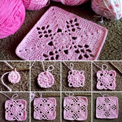 Mystery Square - Free Pattern