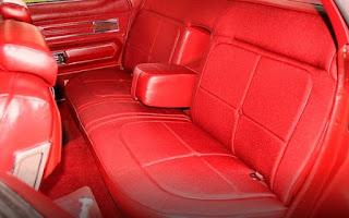 1973 Oldsmobile 98 Luxury Sedan Seat Rear
