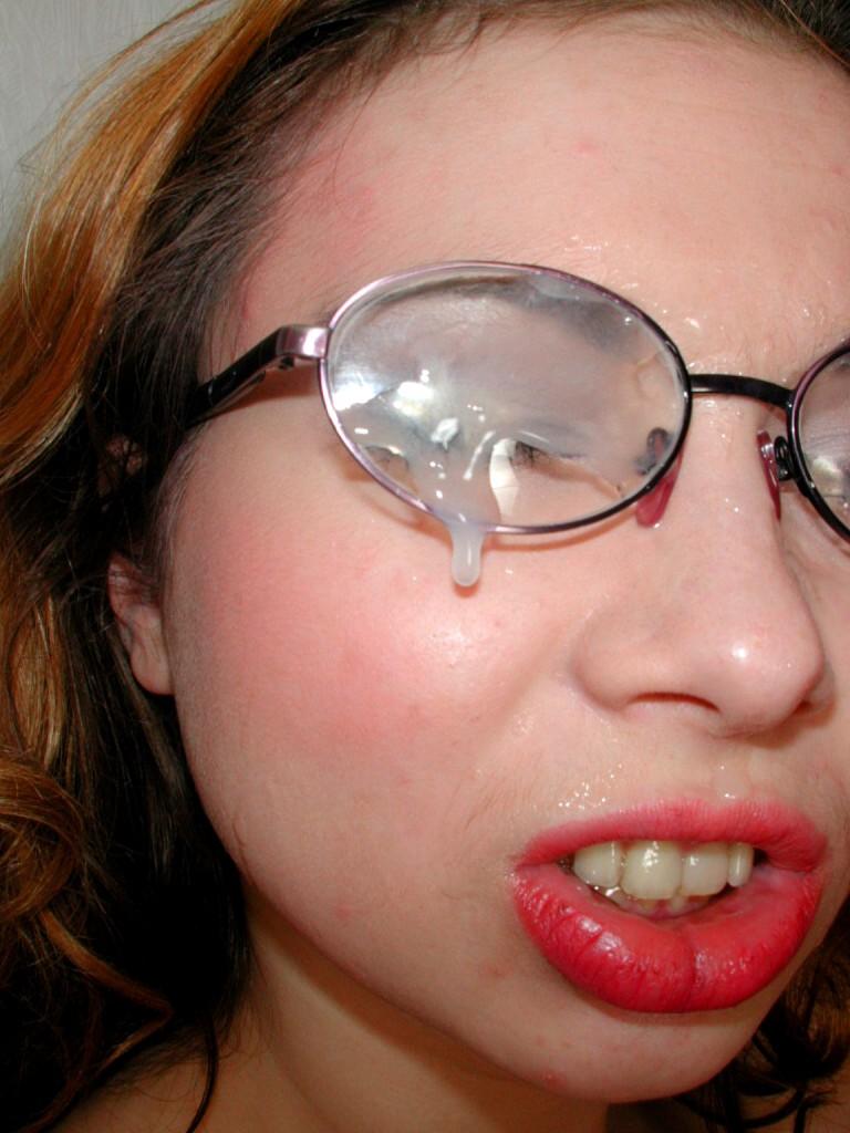 Sperma Auf Brille
