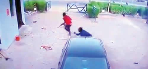 CCTV Footage of Armed Robbery Attack in Offa Emerges