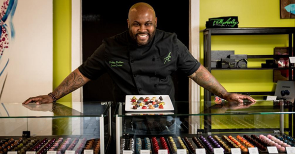 Founder of a Black-owned chocolate brand
