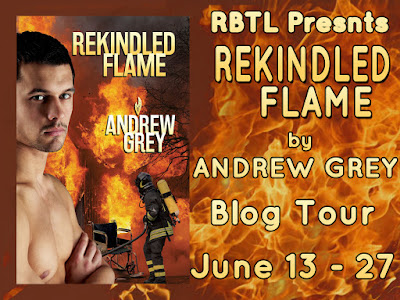 Blog Tour: Creative Post, Excerpt & Giveaway Andrew Grey - Rekindled Flame