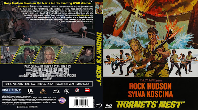 Hornets' Nest (1970) Bluray Cover