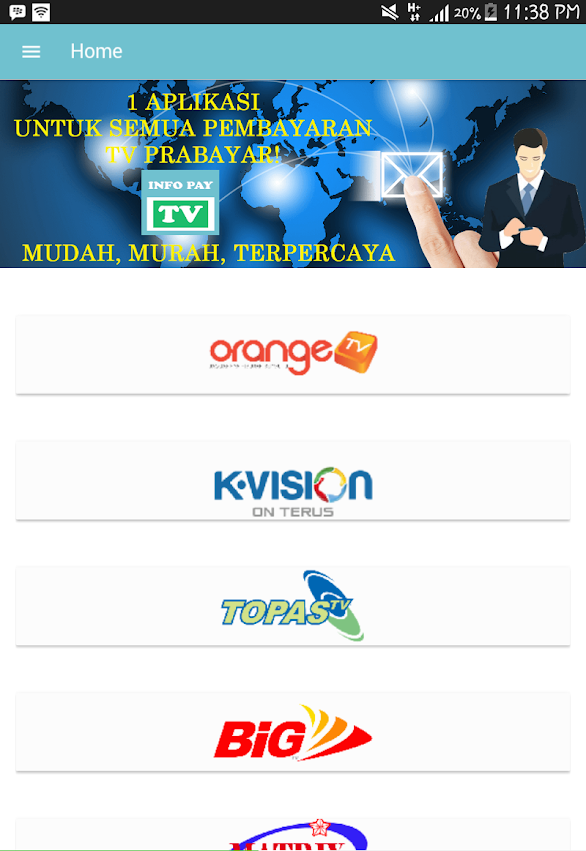 Info Pay TV Apps (Aplikasi Android)