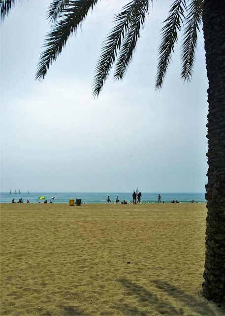 Travel Guide: Barcelona -- Barceloneta Beach