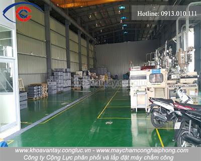 Hình ảnh nhà xưởng sản xuất của công ty Sung Woo Tech Vina - KCN Tràng Duệ - Hải Phòng.