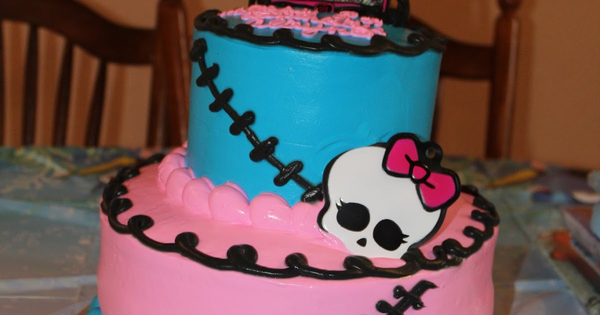 Monster High Two Tier Cake