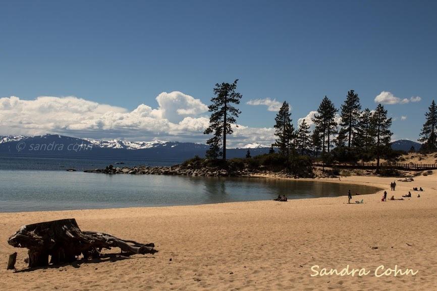 Parte inferior del lago Tahoe