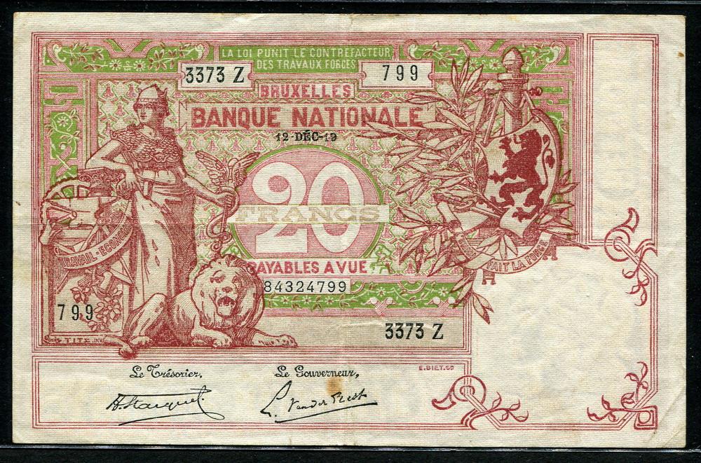 Belgium Currency Symbols