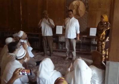 Komunitas Tuna Rungu Dukung Anies-Sandi