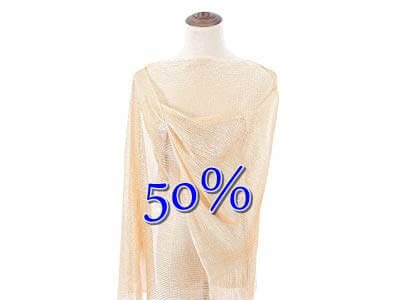 50% off Shawl and Wrap for Evening Dresses