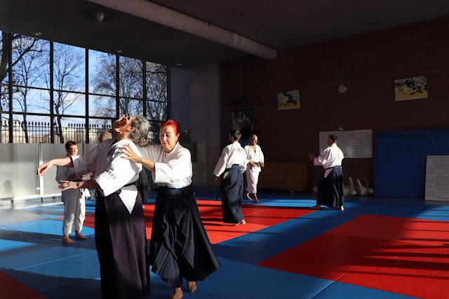 Technique Aikibudo shodan ushiro kata otoshi
