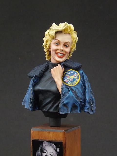 Marilyn Monroe 1/10 - Life Miniatures Marylin