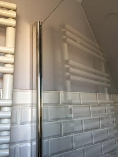 DIY : création d'une paroi de douche en verre