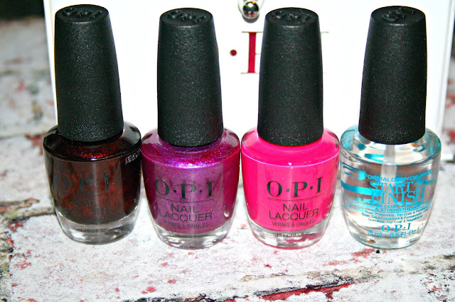OPI Nutcracker Nail Polish Collection Review and Swatches