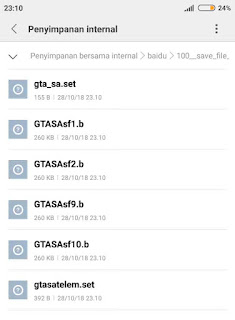 cara pasang save tamat gta sa android