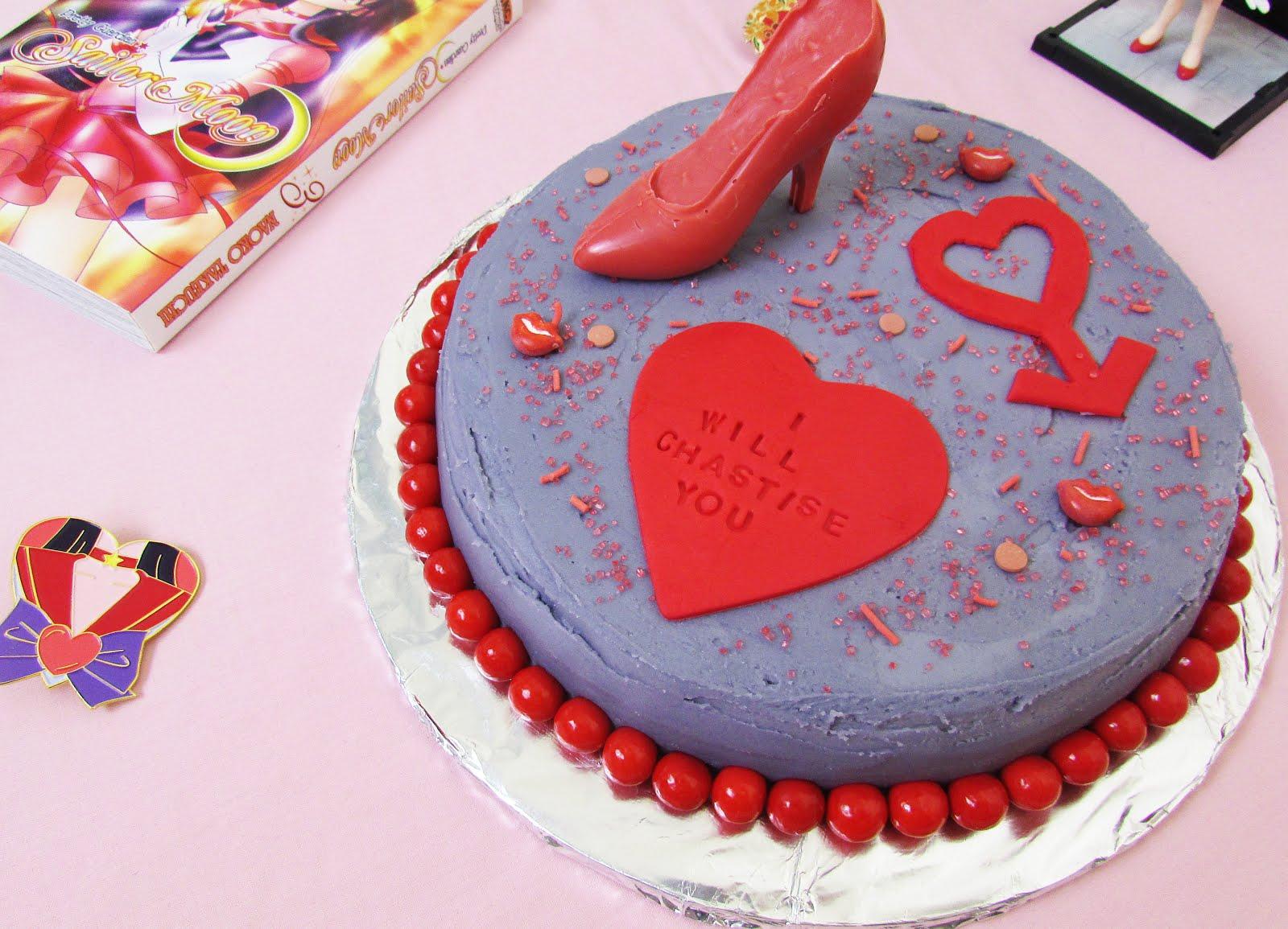 Sailor Mars Surprise Cake ♡ Sailor Moon Recipe