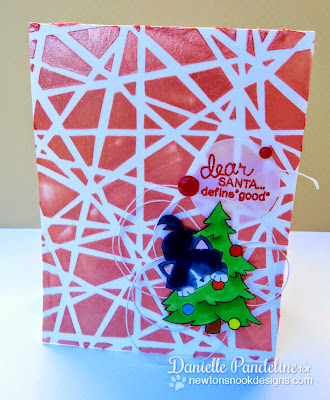 Dear Santa Card | Featuring Newton's Nook Designs | Created by Danielle Pandeline
