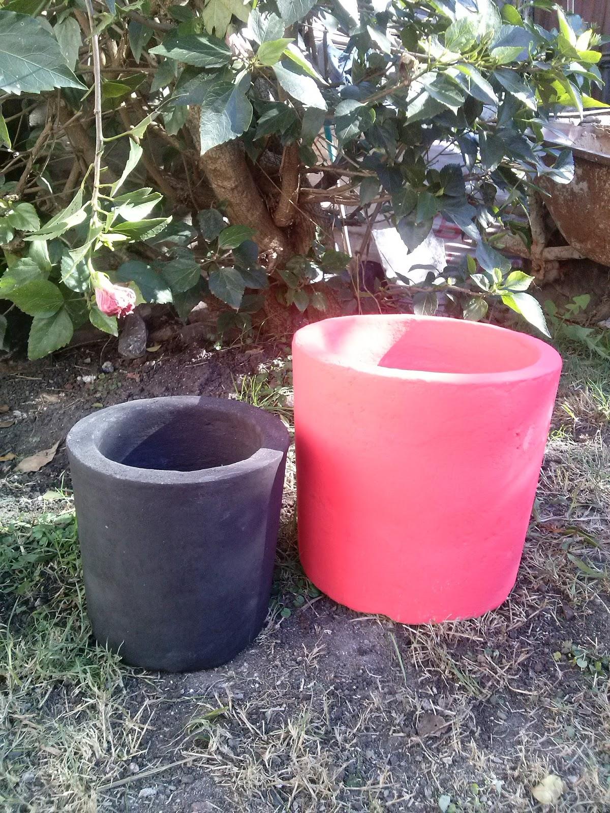 Moldes para hacer macetas de cemento molde para maceta - Maceteros de cemento ...