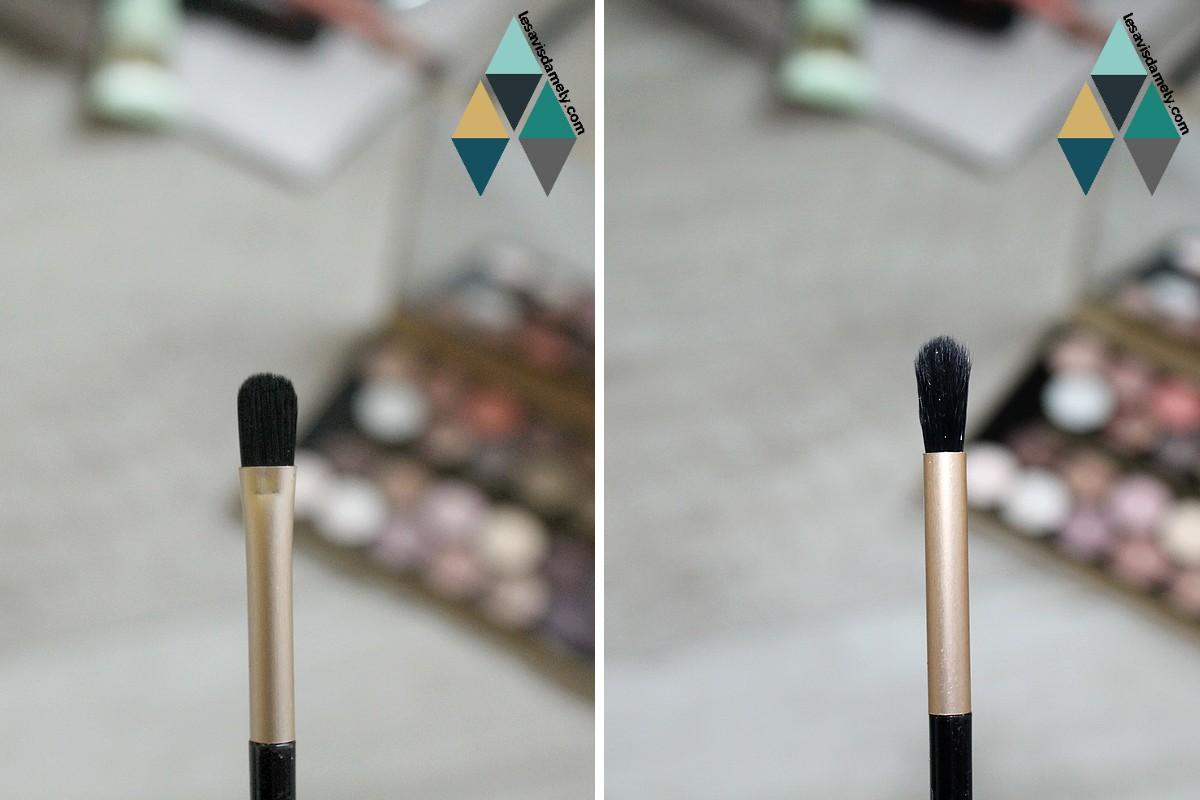 pinceaux palette Makeup Revolution
