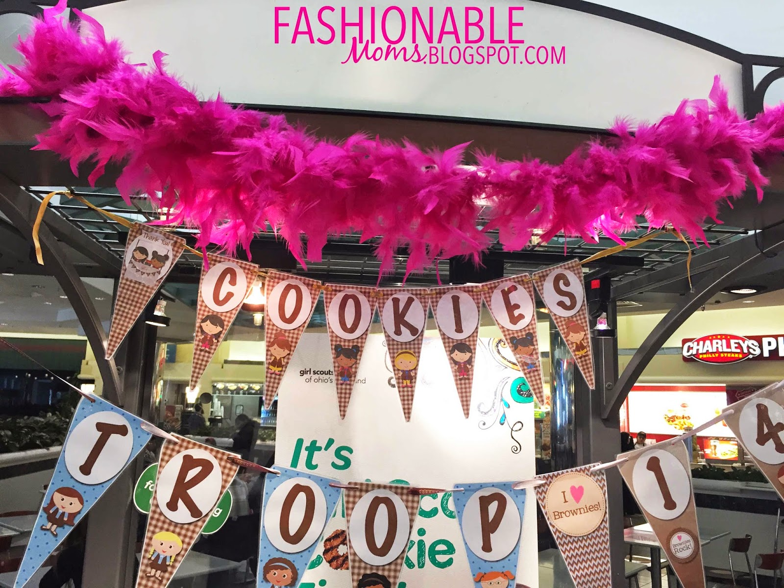 My Fashionable Designs Girl Scouts Cookie Booth Flag Banner Free Download