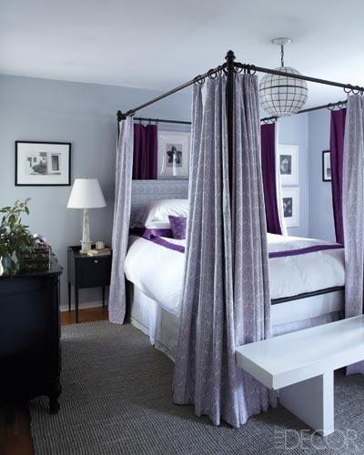 London Bedroom Accessories Elle Decor Bedroom Trendy Bedroom Lighting Master Bedroom Accessories: 40 Fabulous Purple Bedrooms