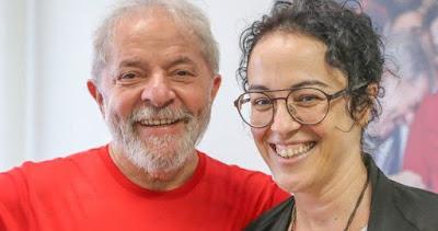 Lula com Marcia Tiburi