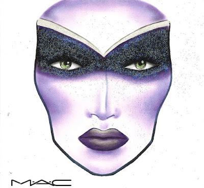 Celestial Sorceress_Face Chart MAC