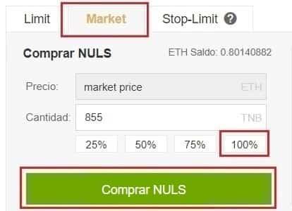 Cómo Comprar NULS en Binance y Coinbase
