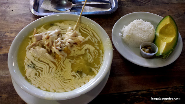 Ajiaco, prato típico de Bogotá