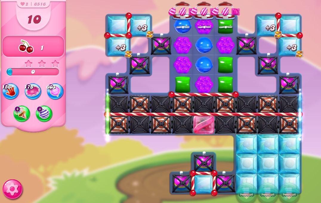 Candy Crush Saga level 6516