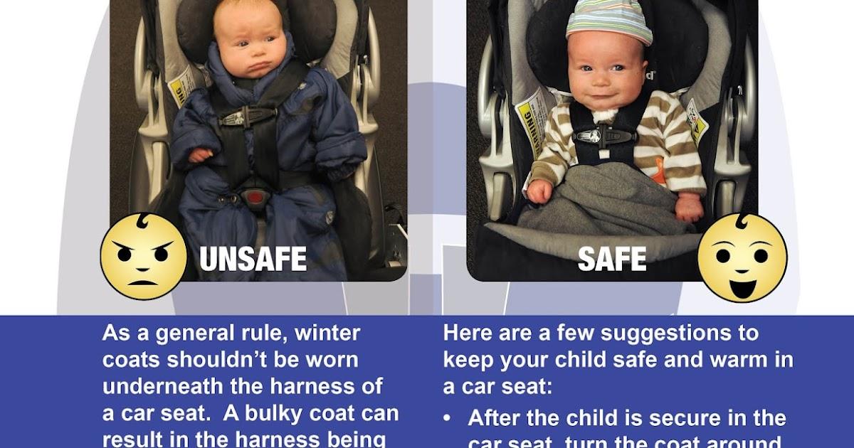 No Winter Coats In Car Seats